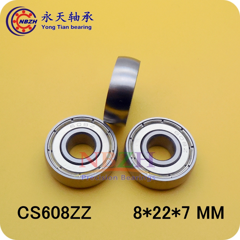 Car sliding door pulley spherical <font><b>bearings</b></font> UC608ZZ 8*22*7 mm arc track pulley image