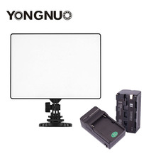 YONGNUO YN300 Air 3200k-5500k YN-300 air Pro LED Camera Video Light with NP-F750 Battery and Charger for Canon Nikon travor 336pcs bi color led video light 3200k 5500k ir for most model of canon nikon sony dslr camera and camcorder