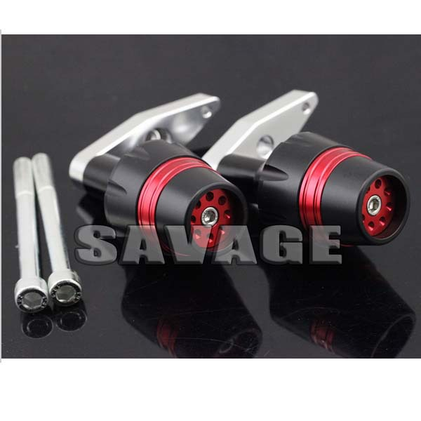 New Design Motorcycle Frame Sliders Crash Protector Falling Protection For KAWASAKI ER-6F 2012-2014 Red