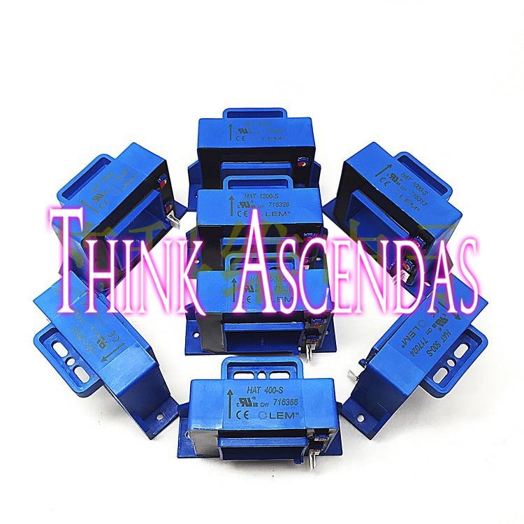 1pcs New Current Sensor HAT400-S / HAT500-S / HAT600-S ymf704c s ymf704 s qfp100 1pcs