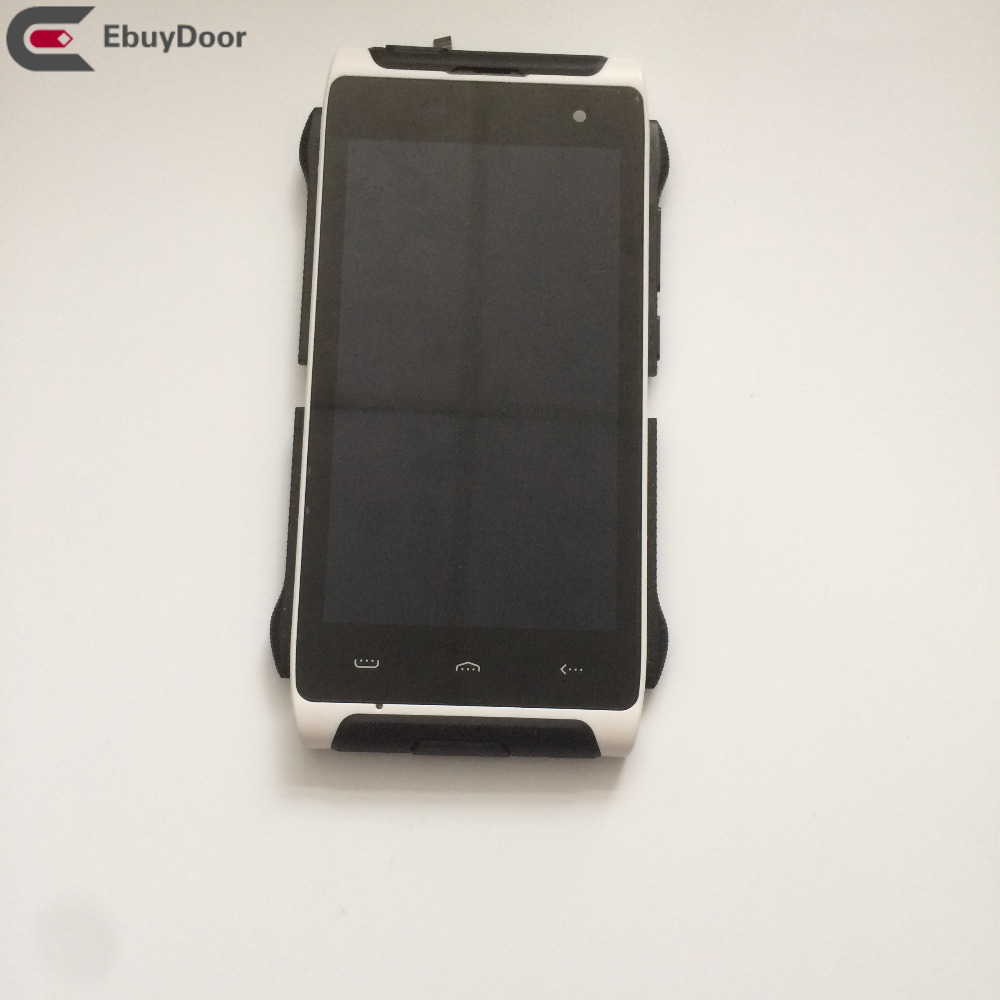 Used Replacement LCD Display Digitizer Touch Screen Frame For Homtom HT20 4 7 Inch 1280x720 MTK6737