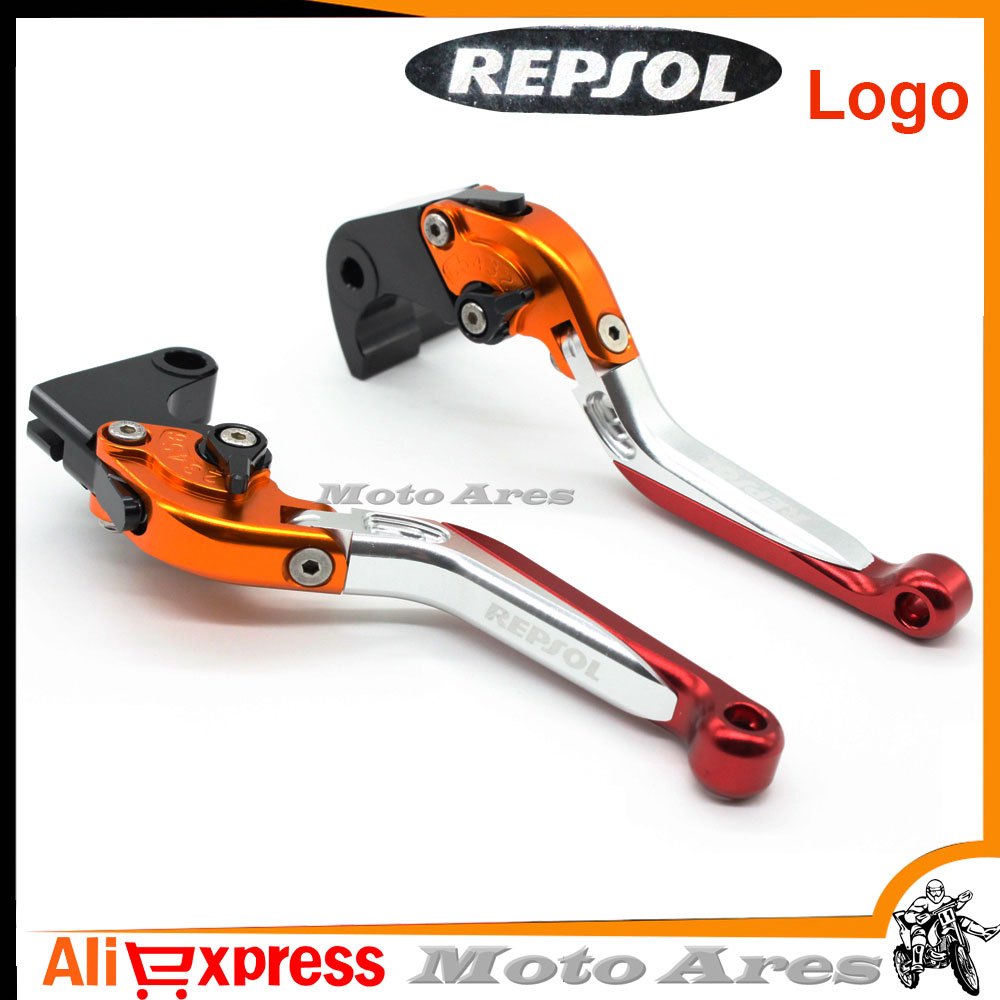 New For Honda Cb600f Cbr600f Motorcycle Accessories Adjustable Motorcycles Folding Extendable Brake Clutch Levers Logo Repsol In Covers Ornamental Mouldings From