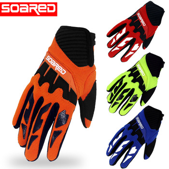 SOARED 3-12 years Old Kids full  Finger Cycling Gloves Skate Sports Riding Road Mountain Bike Gloves for Children Boys and Girls boodun 4 10 years old kids full finger cycling gloves skate sport mtb riding bmx mountain bike bicycle gloves for boys and girls