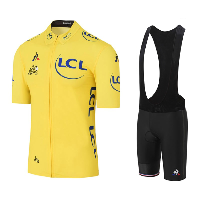 new Tour de France Pro Team Red Cycling Jerseys Set MTB clothing Short shirt Ropa Ciclismo Bike Wear Maillot Culotte yellow leobaiky 2018 brand cycling suit jerseys newest pro fabric wear long set bike clothing pants mtb bike maillot ropa cycling set