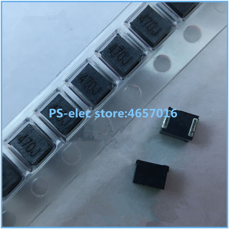 10pcs/lot 1210 SMD <font><b>Inductor</b></font> 56nH 470nH 1uH 1.2uH 1.8uH 2.2uH 2.7uH 3.9uH 33uH 39uH 68uH <font><b>100uH</b></font> 470uH Inductance High Quality image
