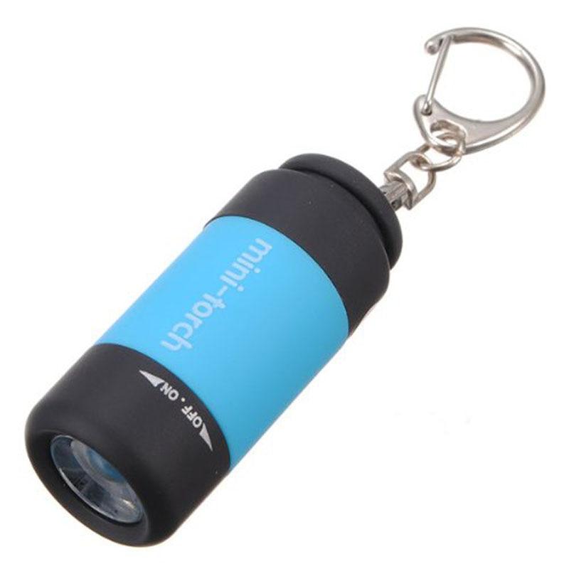 Lanternas e Lanternas 0.5 w mini chaveiro usb Lanterna : Mini Keychain