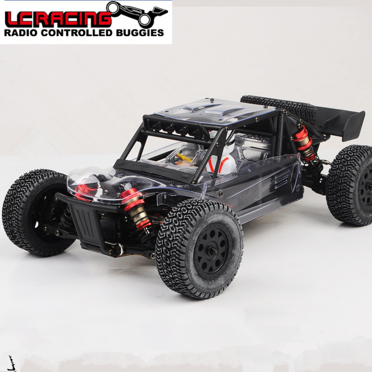 LC RACING 1:14 EMB motor Sin Escobillas Off Road 4WD RC coche dt chasis rtr cont