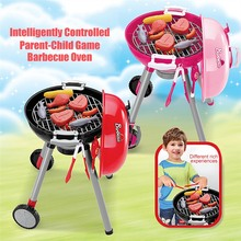 Kitchen Performing Gift Kids Toys Sets BBQ Barbecue Grill Toy Accessories Childrens Play Role Chef Puzzle Simulation Suits