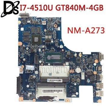 KEFU Z50-70 MOTHERBOARD For Lenovo G50-70M G50-70 Z50-70 i7-4510u motherboard ACLUA/ACLUB NM-A273 GT840M-4GB Test  free shipping