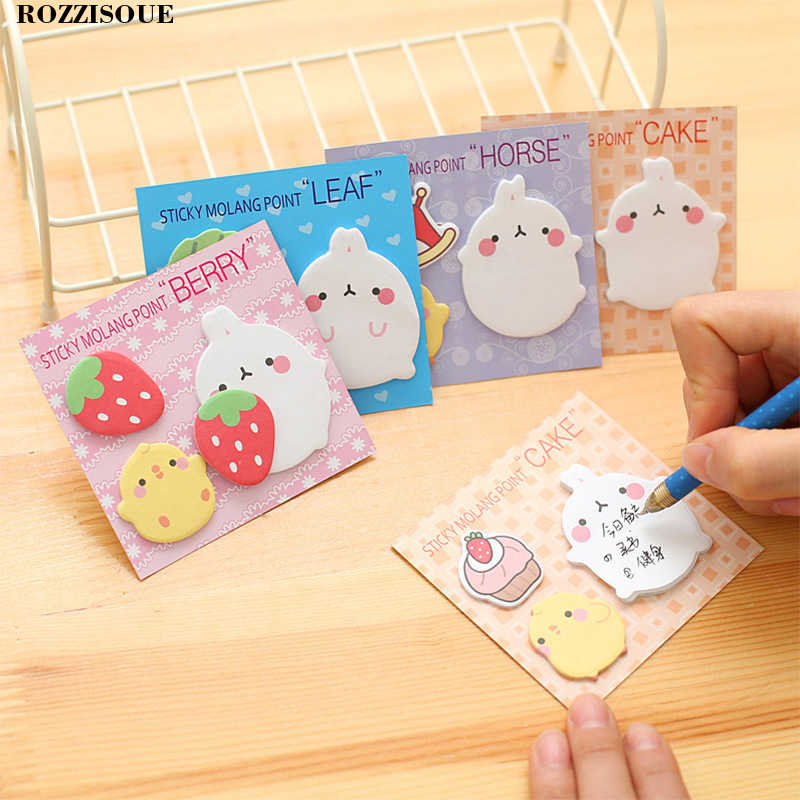 4pcs Mini Cartoon Paper Sticker Combination Decoration Decal Diy Album Scrapbooking Seal Sticker Kawaii Stationery Gift Material