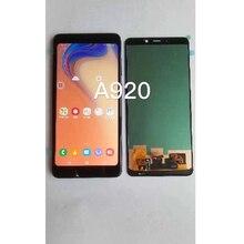 Per Samsung Galaxy A9 A9s 2018 A9 star Pro SM A920F/DS display LCD con Touch Screen Digitizer Assembly Spedizione trasporto libero
