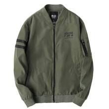 MA1 Bomber Jacket Men Pilot With Patches Green Tactical Thin Pilot Bomber The North Of Face Jacket Casaco Militar Jacket Men(China)