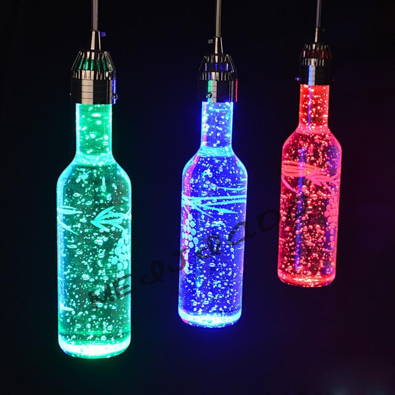 Z Moderna obeska za kristalno steklenico za vino, balonska svetilka - Notranja razsvetljava - Fotografija 5
