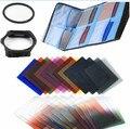 9in1 Полный Обычный набор Цветных фильтров + фильтр сумка + Слоты Держатель фильтра + 49 ММ Переходное Кольцо для Cokin Серии P Камеры