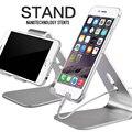 Metal de alumínio universal suporte do telefone móvel tablet desk suporte suporte para iphone 7/7 mais 6 s 6 5S 5 para kindle ebook atacado