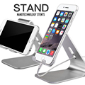 Universal Aluminum Metal Mobile Phone Stand Tablet Desk Holder Stand for iPhone 7 / 7 Plus 6s 6 5s 5 for Kindle Ebook Wholesale