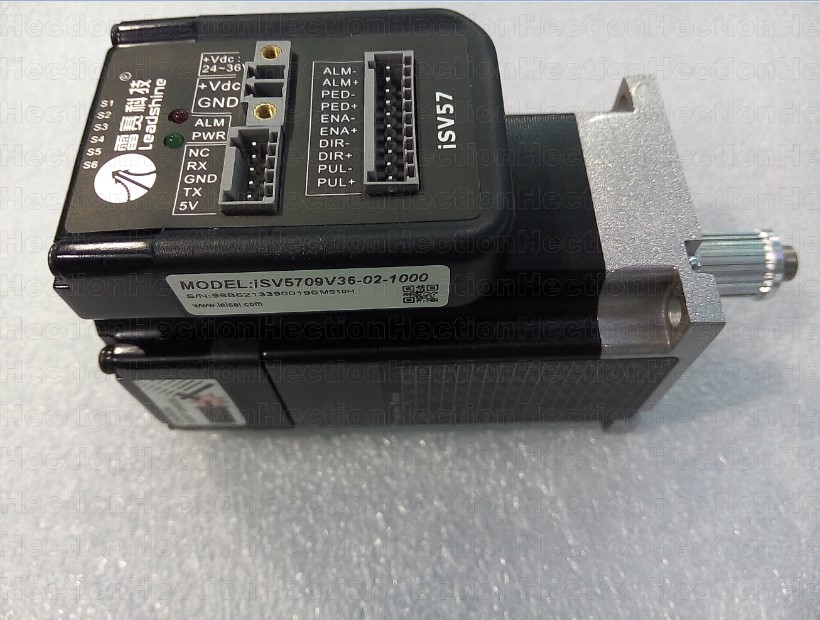 90W Leadshine Integrated servo motor NEMA23 ISV-B23090-02-1000 Servo Motor 3000 RPM Speed out 0.3NM  CNC Inkjet Printer parts dcs810 leadshine digital dc brush servo drive servo amplifier servo motor controller up to 80vdc 20a new original