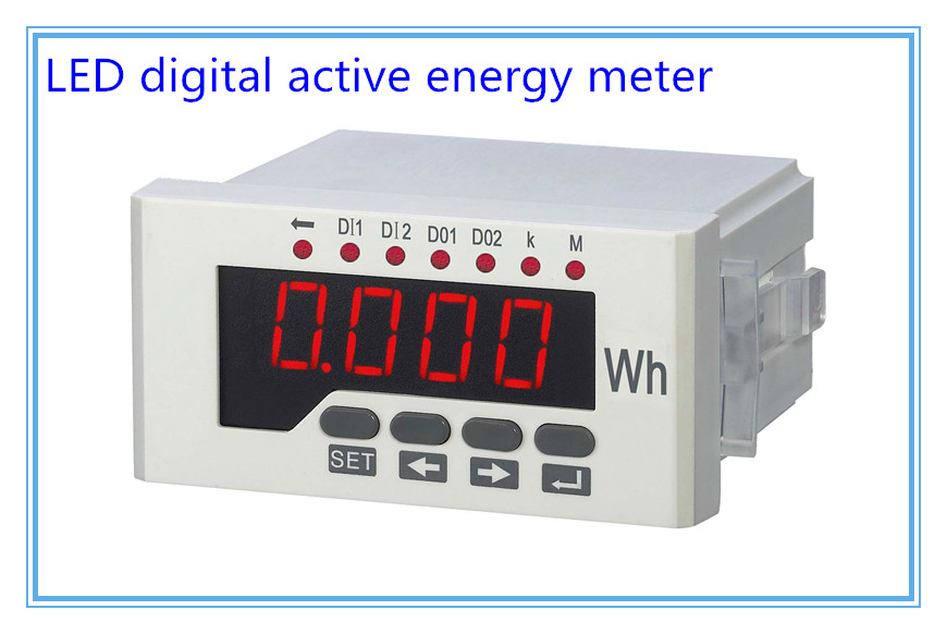 LED RH-E Series,Single phase digital active energy meter,electricity meter,Energy Meters,electric energy meter lcd hy 3re series three phase digital reactive energy meter electricity meter energy meters electric energy meter