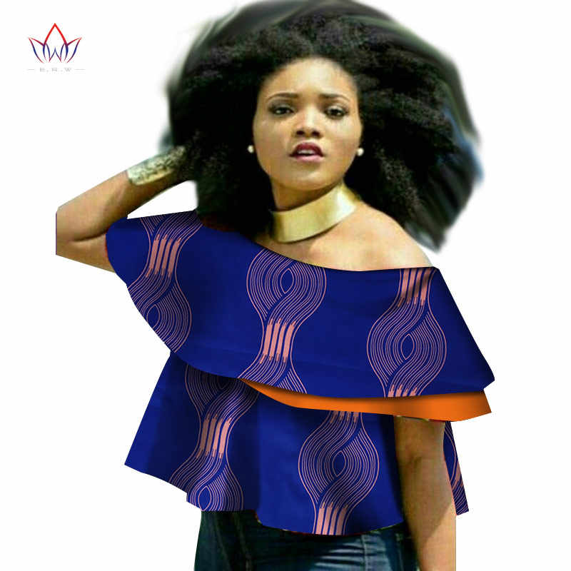 Summer 6xl women african clothing plus size traditional o-neck african  print clothing casual african e90af8dc48b8