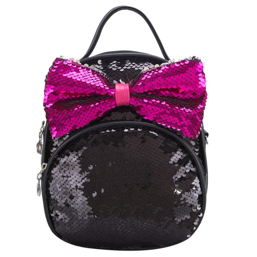 bagpack for women 2018 Fashion Parent-Child Sequin Bow Travels Backpack Shoulder Bags zaino donna6.284bagpack for women 2018 Fashion Parent-Child Sequin Bow Travels Backpack Shoulder Bags zaino donna6.284