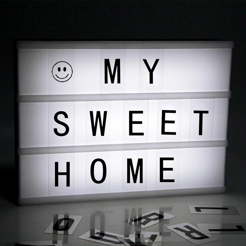 ABS+PS 1.4W A4 22x5.5x30cm DIY LED Light Box+96pcs Black Letter Cards+90pcs Color Letter Cards+85pcs Emoticon Cards+1xUSB Cable letter print color block briefs