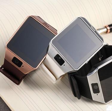 Galleria fotografica Astuto Della Vigilanza DZ09 Sim Del Telefono Della Vigilanza del Bluetooth carta di Tf di Sostegno <font><b>Smartwatch</b></font> GSM di Chiamata Bluetooth 3.0 Per Samsung Android Phone pk GT08