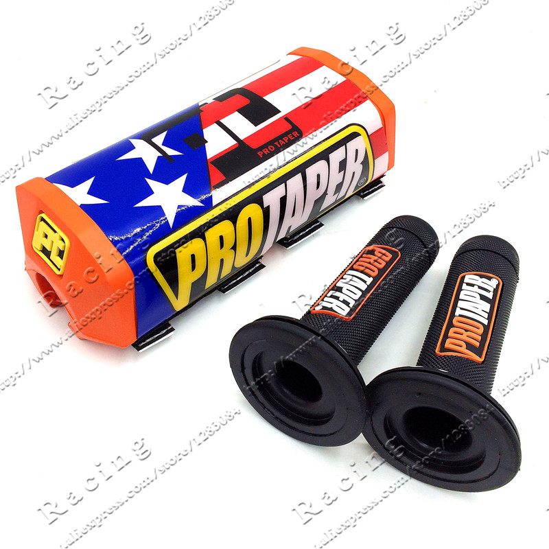 Motorcycle Handle grips Motocross Pit Pro Racing handle bar pads For DIRT BIKE 1-1/8
