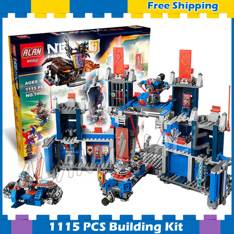 1115pcs New Knights The Fortrex Castle Base 10490 Model Building Blocks Gifts sets Children Hot Sale Nexus Compatible With Lego dr tong single sale the lord of the rings medieval castle knights rome knights skeleton horses building bricks blocks toys gifts