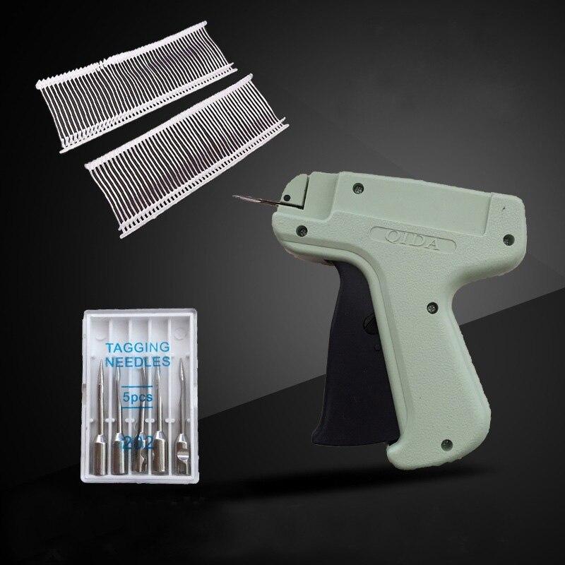 Manually Price Label 1 Pcs Tagging Clothes Garment Thick Needle Guns 1000 Barbs 5 Needles Tag Gun Art Craft Tooling