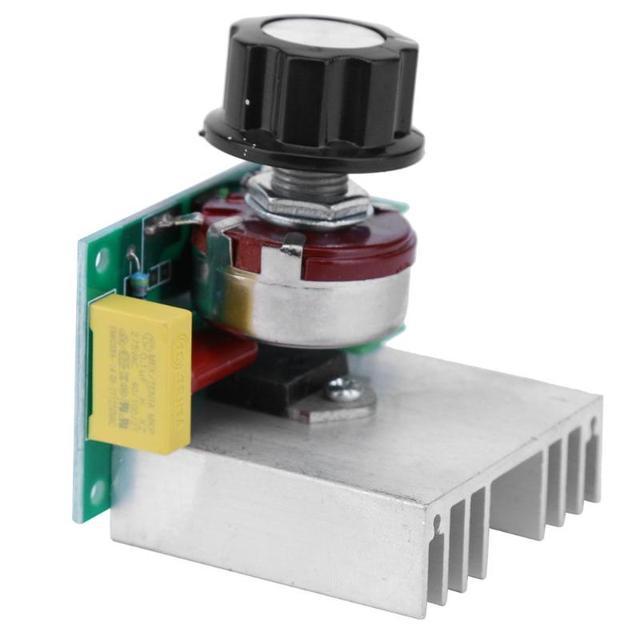 AC Trasformatore Micro AC 220 v 3800 w Regolatore di Tensione Regolatore di Velocità Temperatura stabilizzatore di Tensione