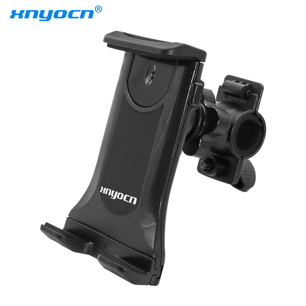 Xnyocn Adjustable 360 Degree Rotating Bicycle Motocycle Phone Mount Clip Holder Handlebar Bracket Stand For Mobile Phones Tablet