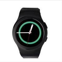На складе в Исходном № 1 Bluetooth Smart Watch Спорт Full HD Экран СИМ TF карты smartwatch Для Android и IOS samsung gear s2 PK X3