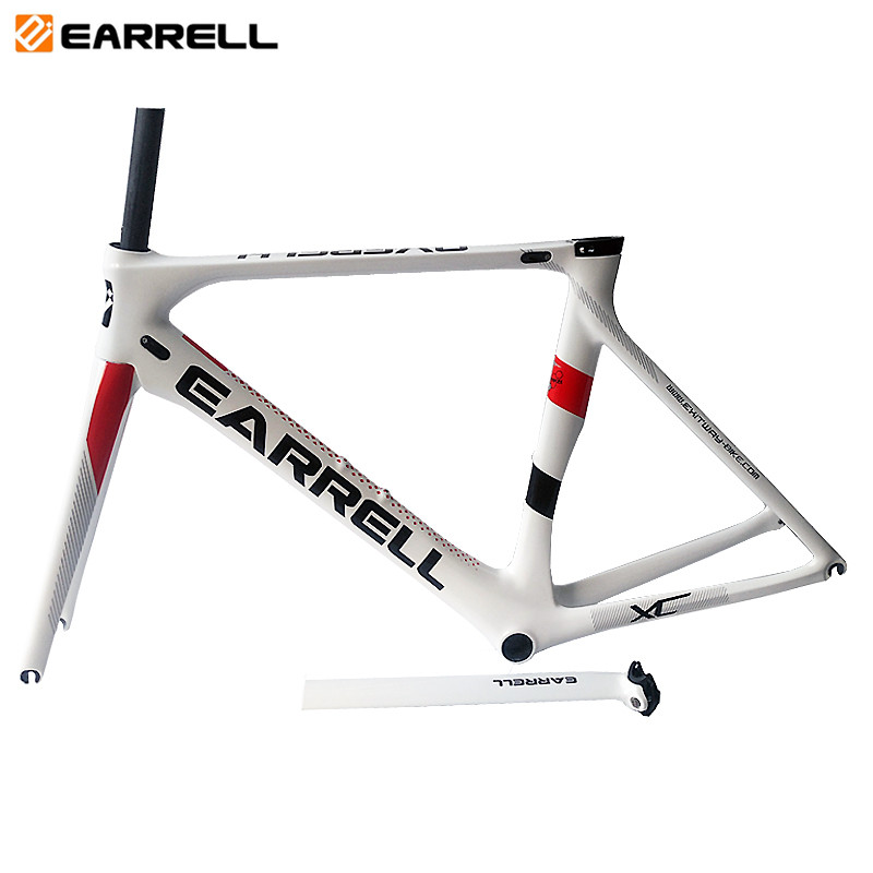 In Stock 2019 OME New Full Carbon Fiber Road Bike Frame Di2 T800 Surper-light Bicycle Frame BB86  50/53/56cm