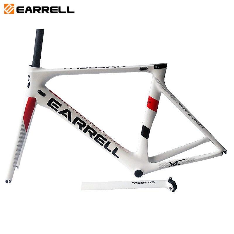 In Stock 2019 OME New Full Carbon Fiber Road Bike Frame Di2 T800 Surper-light Bicycle Frame BB86  50/53/56cm