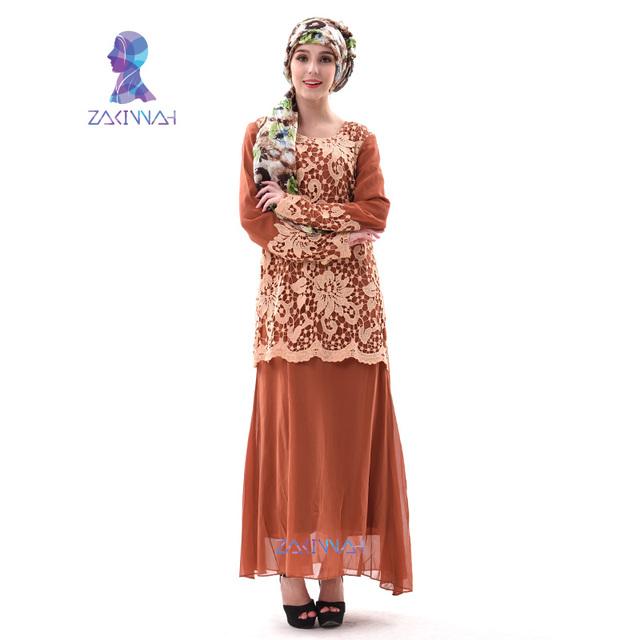 A003New turco mujeres abaya ropa casual elegante vestido de las mujeres ropa vestido islámico hijab turco mujeres ropa
