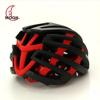Mountain Bike Helmets | MTB Cycling Helmet MOON  Ultralight / EPS In-molded / Mountain / Highway / Adult Bike Helmet 2019 Bicycle Helmet Casco Ciclismo 5