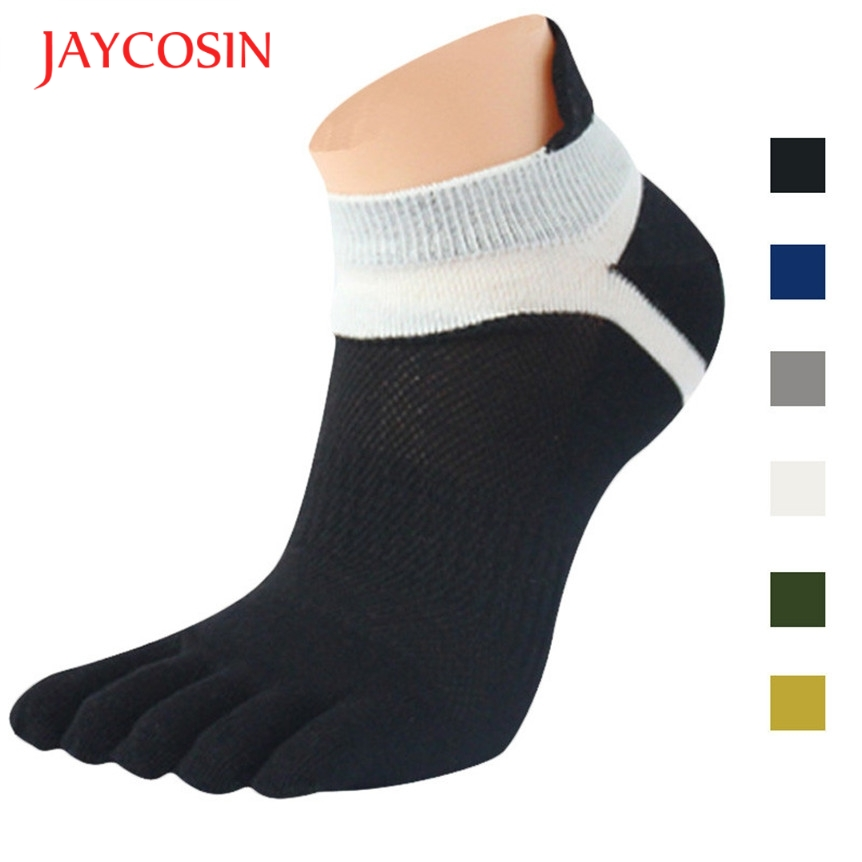 New Fashion  Cool beener 1 Pair MenMesh Meias casual Five Finger Toe Socks dec5 Drop Shipping