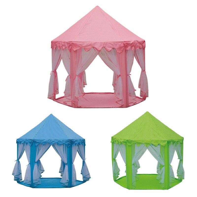 3 couleurs pliable hexagone jouet tente bébé balle piscine pliante tente pour enfant enfants jouer maison océan balle jouet tentes facile Babysitter