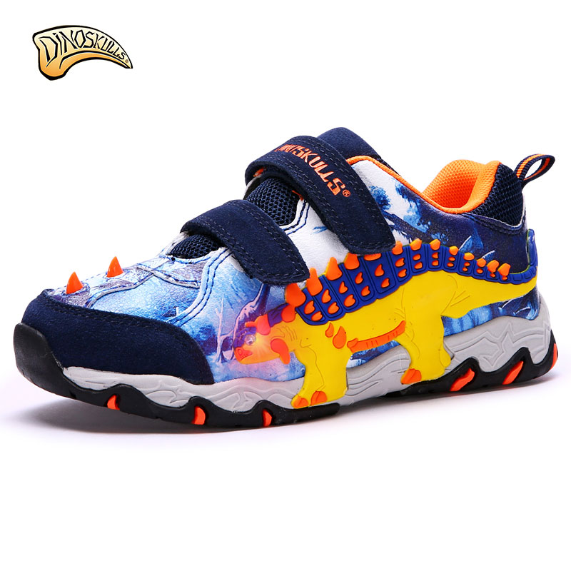 Dinoskulls 2018 New children shoes spring autumn comfortable kids boys casual sport sneakers fashion flashing shoe uovo brand kids spring autumn new sport shoes for girls green color casual sneakers kids fashion canvas shoe zapatos eu 30 37