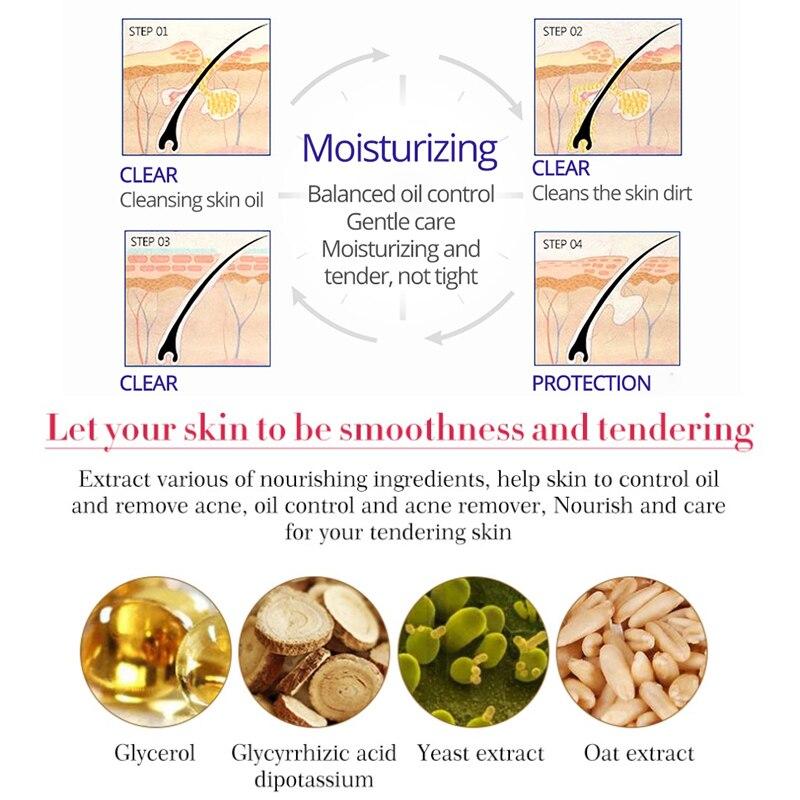 ALI shop ...  ... 32826710167 ... 5 ... Tea Tree Acne Facial Cream Treatment Anti-Acne Shrink Pores Face Cream Collagen Whitening Hyaluronic acid Moisturizing Skin Care ...