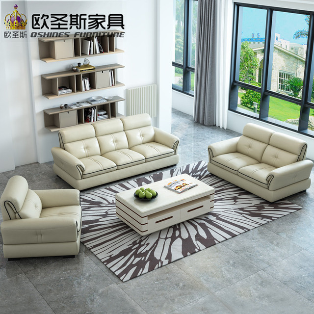 Cheap U Shaped Sofa Low Cost Modern Corner Leather Sofa: 2019 Hot Sale Cheap L Shape Sofa Low Price Home Furniture