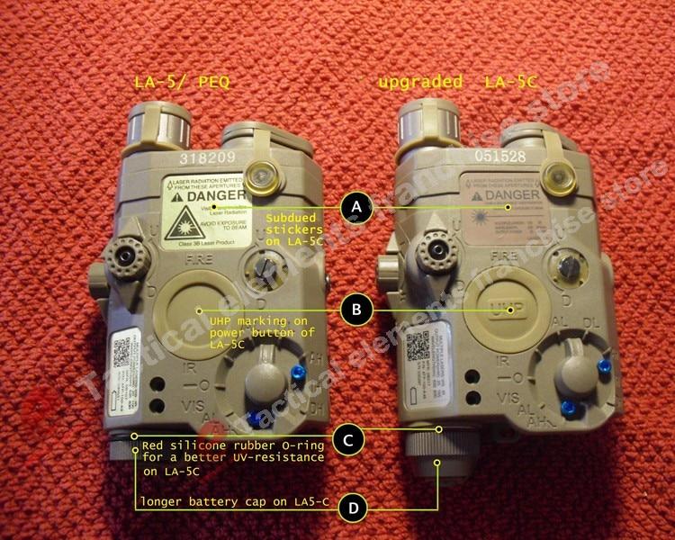 Element Airsoft LA-5 Red Laser IR լազերային LED - Որս - Լուսանկար 2