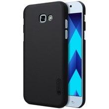 Nillkin супер матовый щит case для samsung galaxy a5 (2017) A520 Мобильных ПК Fundas Caque Caqa Случаи Мобильного Телефона Крышка