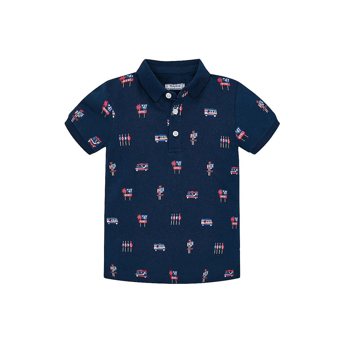 T-Shirts MAYORAL 10681388 Children sClothing T-shirt with short sleeves polo shirt for boys and girls