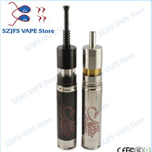 e Cigarette  Yiloong FOGGER BIG mod kit 304ss 2ml 22mm Box Mod Vape Electronic Vaporizer vs Pico Kit 75W mods