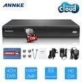 ANNKE 1080P 4CH Cloud Storage DVR Video 2MP HD-CVI Home Security System 1TB HDD
