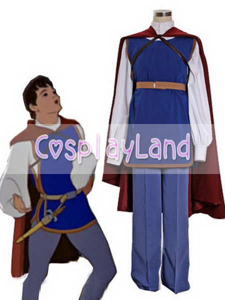 Prince Florian Cosplay Costume Snow White And The Seven Dwarfs Cosplay Man Suit Outfit Halloween Party Snow WhiteCosplay Costume