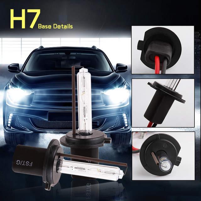 Online Shop Hid Xenon H7 55w 6000k Bulbs Replacement 4300k 5000k