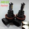 2pcs 12V-32V CRE E 4smd  6000K H11 Car Fog Light Bulb Lamp Super White Car Auto Head Lamp H11 Car Styling for Car Headlight Bulb