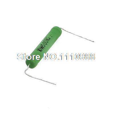 10W 10 Watt 500 Ohm 5% Fixed Type Wire Wound Resistor Resistance 250 ohm resistance 100w wire wound potentiometer variable resistor